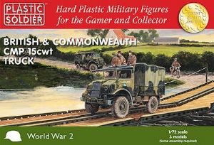 WW2V20024 3 x Canadian Military Pattern 15cwt trucks